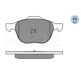 MEYLE Bremsbelagsatz, Scheibenbremse CV612K021BA für FORD, FORD USA bestellen