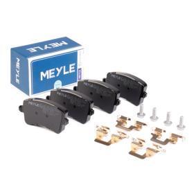 8K0698451C für VW, AUDI, SKODA, SEAT, Bremsbelagsatz, Scheibenbremse MEYLE (025 246 0617/K1) Online-Shop