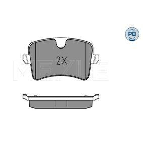 MEYLE Kit de plaquettes de frein, frein à disque 4H0698451M pour VOLKSWAGEN, AUDI, SEAT, SKODA acheter