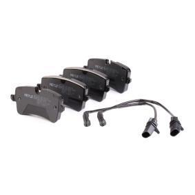 MEYLE 025 246 0617/W Kit de plaquettes de frein, frein à disque OEM - 4H0698451M AUDI, SEAT, SKODA, VW, VAG à bon prix
