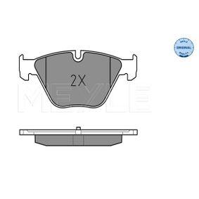 MEYLE Bremsbelagsatz, Scheibenbremse 34116775314 für BMW, JAGUAR bestellen