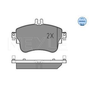 MEYLE Bremsbelagsatz, Scheibenbremse 0064204820 für MERCEDES-BENZ bestellen