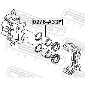 Kolben, Bremssattel 0276-A33F FEBEST
