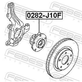 FEBEST Radlagersatz 40202JG01B für PEUGEOT, NISSAN, INFINITI bestellen