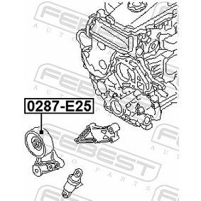 Tensioner pulley, v-ribbed belt 0287-E25 FEBEST
