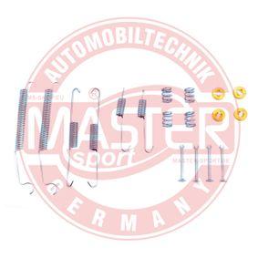 Zubehörsatz, Bremsbacken 03013792782-SET-MS MASTER-SPORT