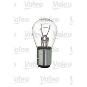 VALEO Bulb, brake / tail light (032105) at low price