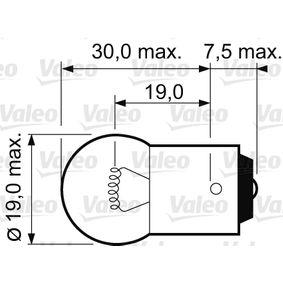 Nummernschildbeleuchtung 032111 VALEO