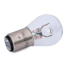 VALEO Bulb, brake / tail light (032205) at low price