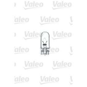 Number plate light bulb (032211) producer VALEO for FIAT PUNTO (188) year of manufacture 09/1999, 80 HP Online Shop
