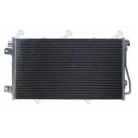 ABAKUS Kondensator, Klimaanlage 7701049665 für OPEL, RENAULT, NISSAN, VOLVO, VAUXHALL bestellen