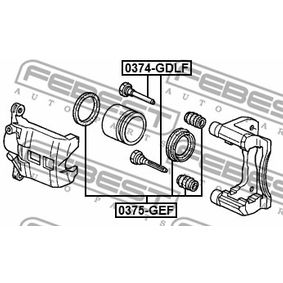 Комплект водещи втулки, спирачен апарат 0374-GDLF FEBEST