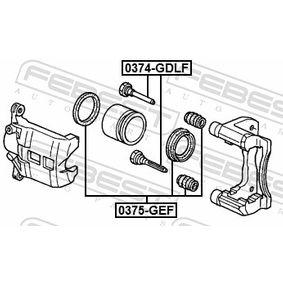 Brake caliper repair kit 0374-GDLF FEBEST
