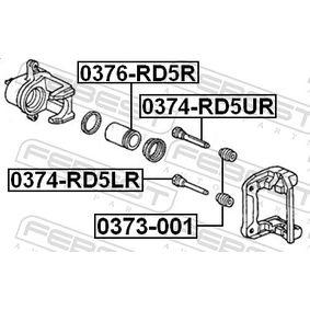 Комплект водещи втулки, спирачен апарат 0374-RD5LR FEBEST
