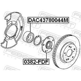 Wheel hub 0382-FDF FEBEST