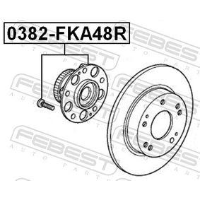 Wheel hub 0382-FKA48R FEBEST
