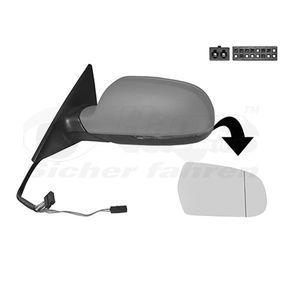 VAN WEZEL Außenspiegel 8K0857535F für AUDI, SKODA, SEAT bestellen