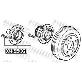 HONDA CIVIC 2.2 CTDi (FK3) 140 LE gyártási év 09.2005 - Kerék / kerékrögzítés (0384-001) FEBEST Online áruház