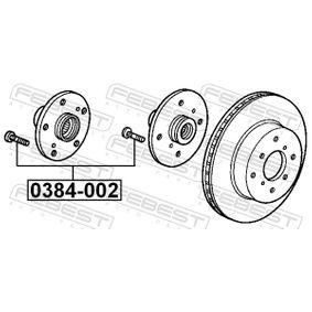 HONDA CIVIC 2.2 CTDi (FK3) 140 LE gyártási év 09.2005 - Kerék / kerékrögzítés (0384-002) FEBEST Online áruház