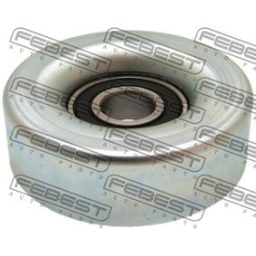 FEBEST Tensioner pulley v-ribbed belt 0387-GD