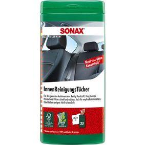 04122000 Reinigingsdoekjes voor de handen voor voertuigen