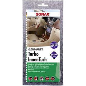 SONAX Lingettes de nettoyage manuel 04130000 en promotion