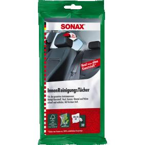 Şerveţele pentru mâini pentru mașini de la SONAX: comandați online