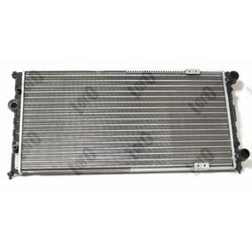 ABAKUS Ψυγείο, ψύξη κινητήρα 6K0121253A για VW, SEAT, AUDI, SKODA, VOLVO Αγορά