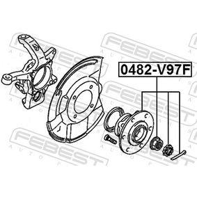 FEBEST Radnabe 3880A015 für MITSUBISHI bestellen