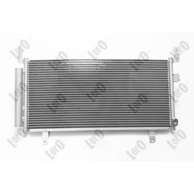Kondensator, Klimaanlage ABAKUS Art.No - 049-016-0013 OEM: 73210SG000 für VOLVO, SUBARU, BEDFORD kaufen