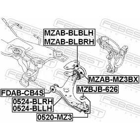 Barra oscilante 0524-BLRH FEBEST