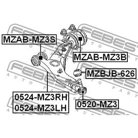 Barra oscilante 0524-MZ3LH FEBEST
