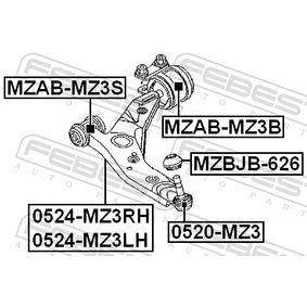 Barra oscilante 0524-MZ3RH FEBEST