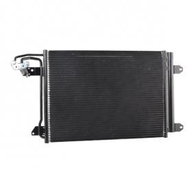 ABAKUS Kondensator, Klimaanlage 1K0820411G für VW, AUDI, SKODA, SEAT, VOLVO bestellen