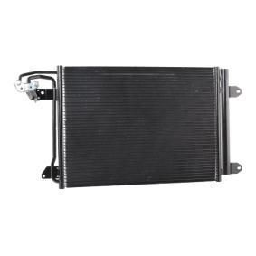 ABAKUS Kondensator, Klimaanlage 1K0820411E für VW, AUDI, SKODA, SEAT, VOLVO bestellen
