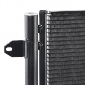 1K0820411G für VW, AUDI, SKODA, SEAT, VOLVO, Kondensator, Klimaanlage ABAKUS (053-016-0016) Online-Shop
