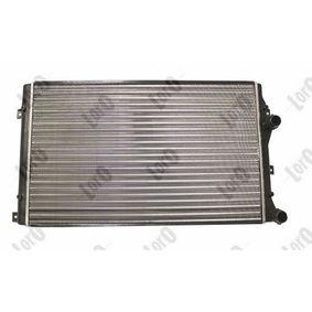 Golf V Хечбек (1K1) ABAKUS Воден радиатор / единични части 053-017-0019