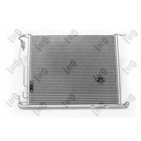 2205001054 für MERCEDES-BENZ, VOLVO, Kondensator, Klimaanlage ABAKUS (054-016-0010) Online-Shop