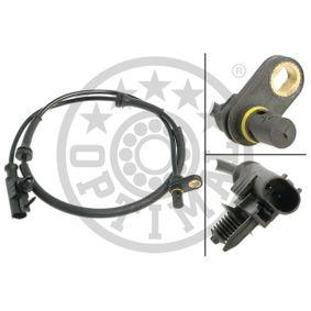 Sensor, Raddrehzahl OPTIMAL Art.No - 06-S762 OEM: A4545420318 für MERCEDES-BENZ, SMART kaufen