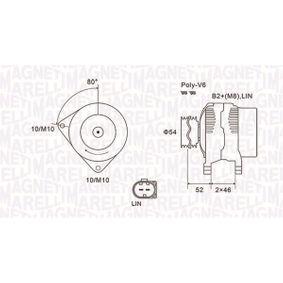 Generator MAGNETI MARELLI Art.No - 063731970010 OEM: AV6N10300GC für FORD, FORD USA kaufen