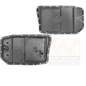 Oil Pan, automatic transmission VAN WEZEL Art.No - 0667070 OEM: 24152333903 for BMW, MERCEDES-BENZ, ROLLS-ROYCE buy