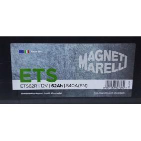 Starterbatterie MAGNETI MARELLI Art.No - 069062540006 OEM: 61216927453 für VW, OPEL, BMW, AUDI, FORD kaufen