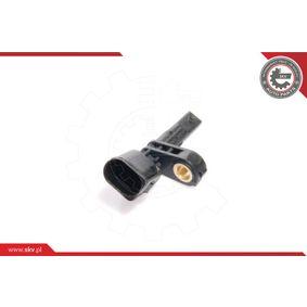 Sensor, Raddrehzahl ESEN SKV Art.No - 06SKV028 OEM: 7H0927803 für VW, AUDI, SKODA, SEAT, PORSCHE kaufen
