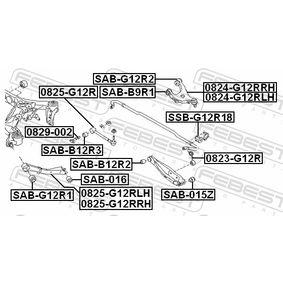 FEBEST Lenker, Radaufhängung 20252FG010 für SUBARU bestellen