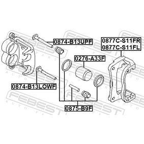 Bremssattel Reparatursatz 0875-B9F FEBEST