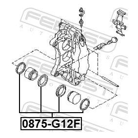 Bremssattel Reparatursatz 0875-G12F FEBEST