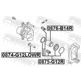 Bremssattel Reparatursatz 0875-G12R FEBEST