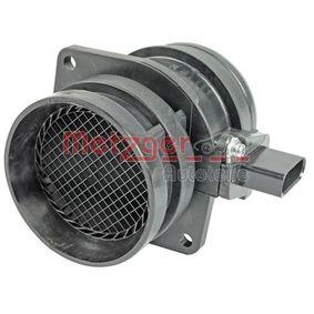 METZGER Air Mass Sensor CBFA, CCTA 0890348 original quality