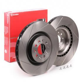 DB9 Convertible BREMBO Brake disc set 09.8780.21