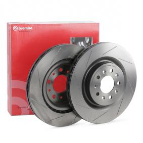 DB9 Convertible BREMBO Brake disc set 09.8781.21